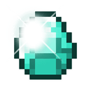 Shining Minecraft Diamond which represents pay as you go Minecraft Server Hosting