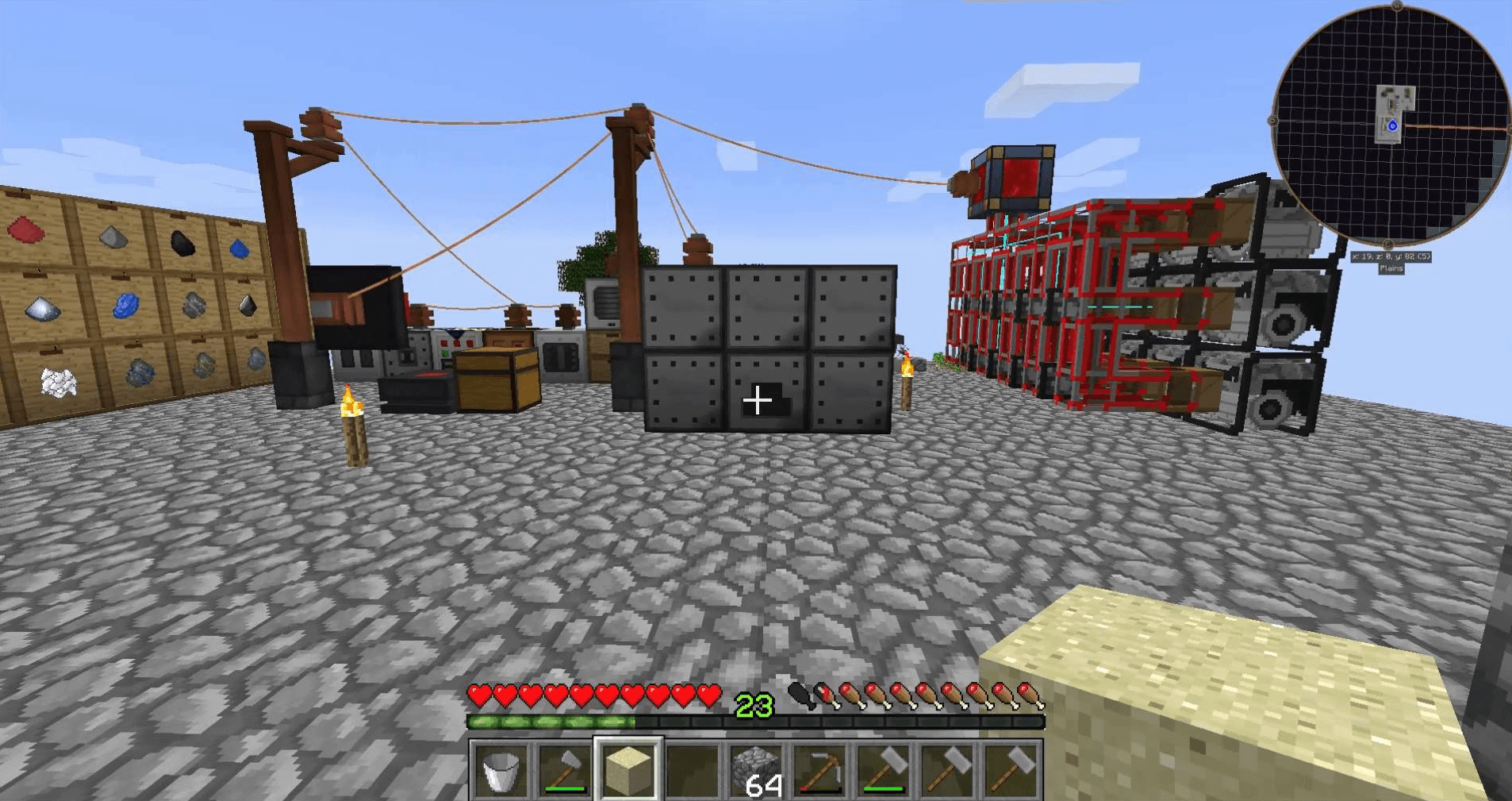 Infinity Evolved Skyblock gameplay screenshot