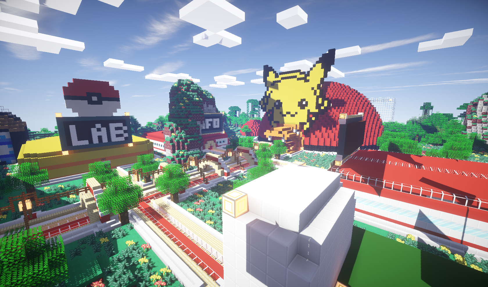 Complex Pixelmon gameplay screenshot