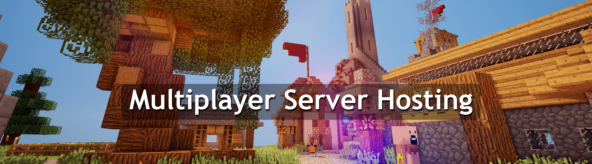 A Minecraft server hosted by ServerMiner